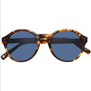 Warby Parker Quimby Tortoise Shell sunglasses